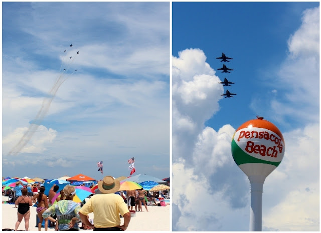 Blue Angels are the highlight of the Pensacola Beach Airshow!
