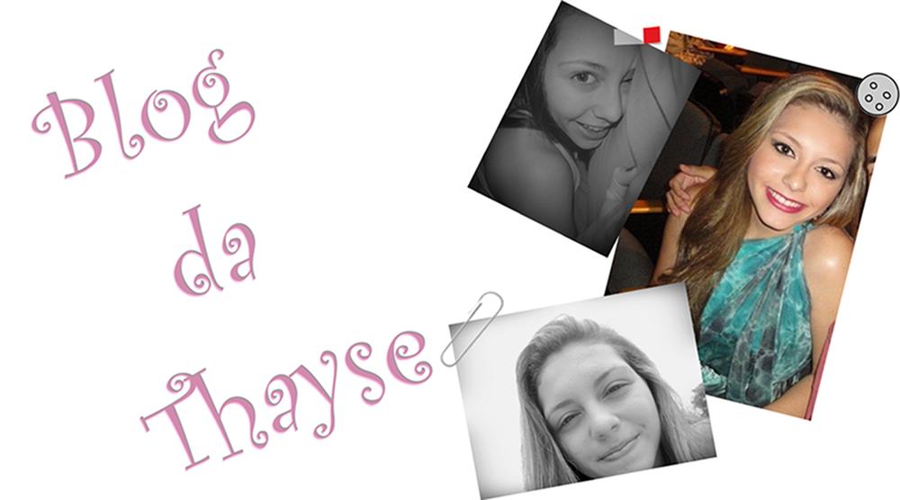 Blog da Thayse