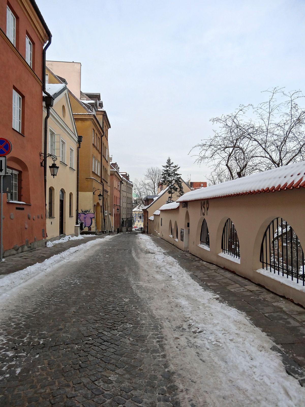 Ulice Starego Miasta. Brzozowa