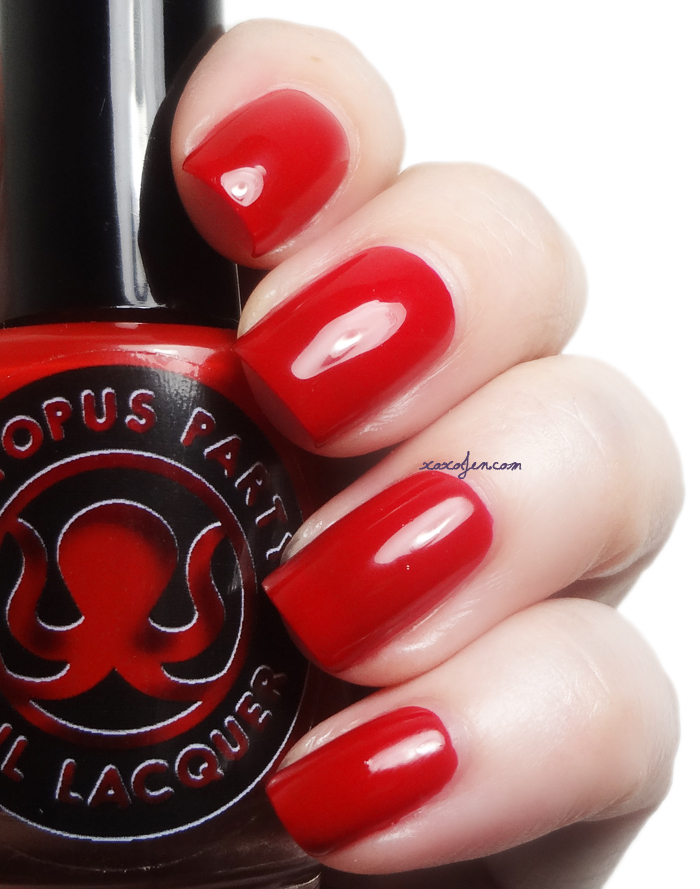 xoxoJen's swatch of Octopus Party Nail Lacquer Universal Loner