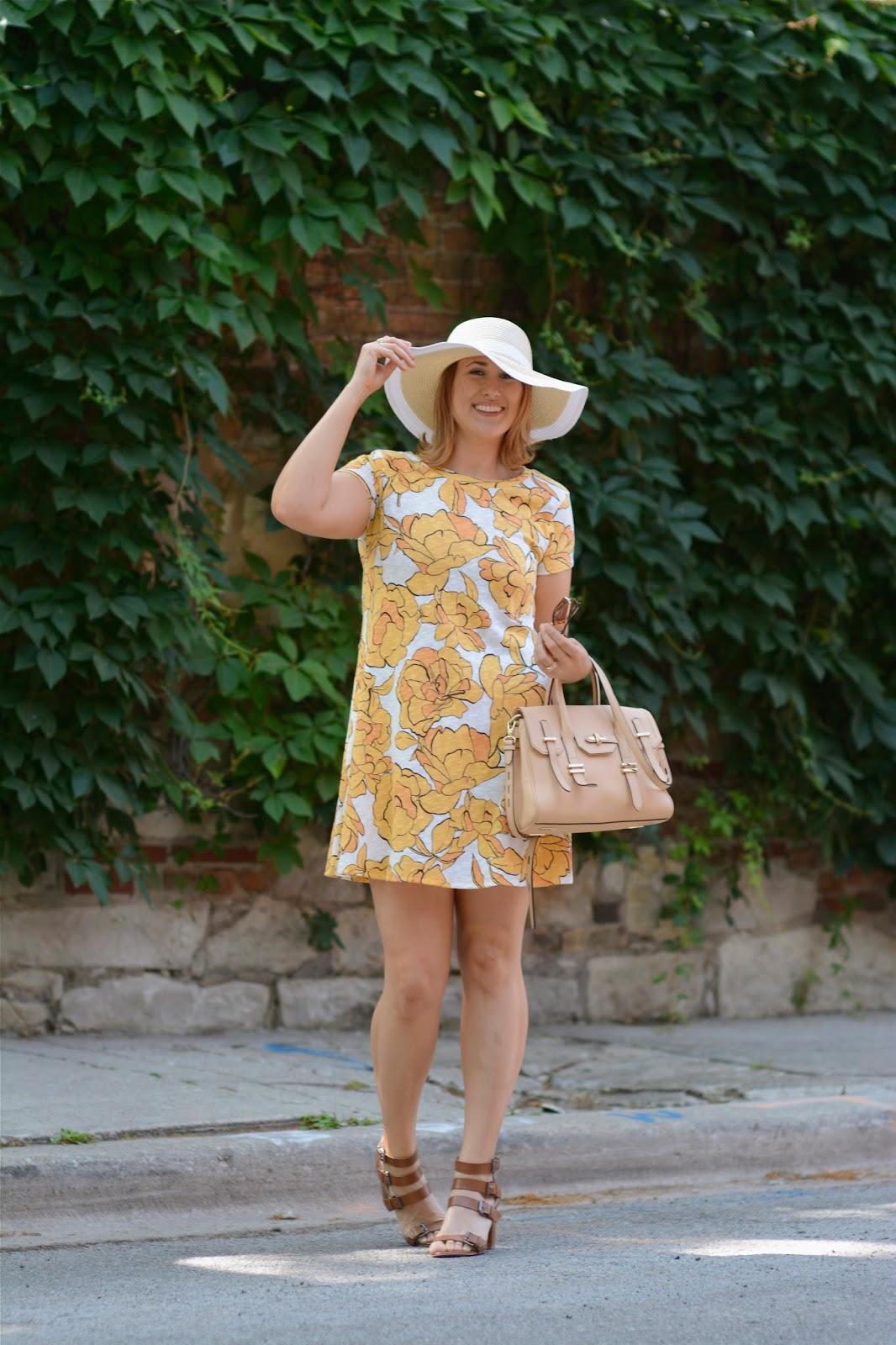 yellow, floral, zara, dress