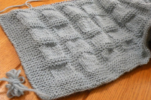 Just Skirts and Dresses: new knitting project in progress ...