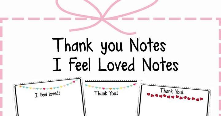 my second sense  thank you notes