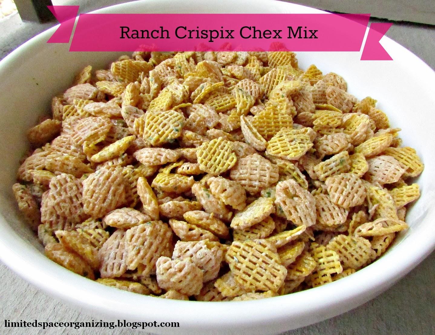 Ranch Crispix Chex Mix