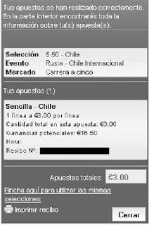 Apuestas Deportivas: Rosberg Balonmano–Campeonato del Mundo Rusia Chile Lbapuestas bono