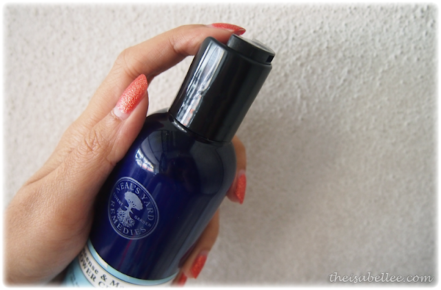 NYR Frankincense & Mandarin Shower Cream cap