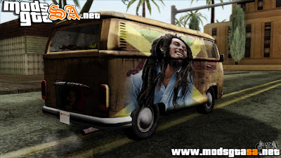 SA - Vw T2 Bob Marley