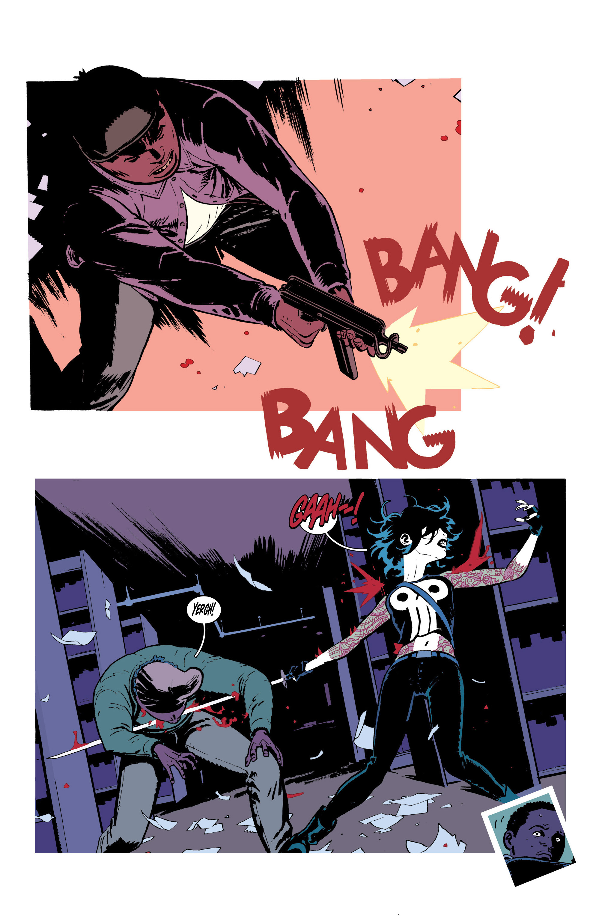 Read online Deadly Class comic -  Issue #18 - 17