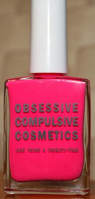 OCC Obsessive Compulsive Cosmetics Nail Laquer in Anime