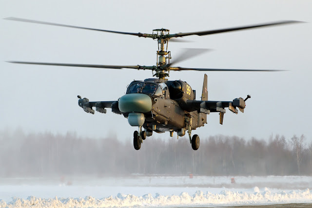 Ka-52 Alligator (NATO: Hokum-A)