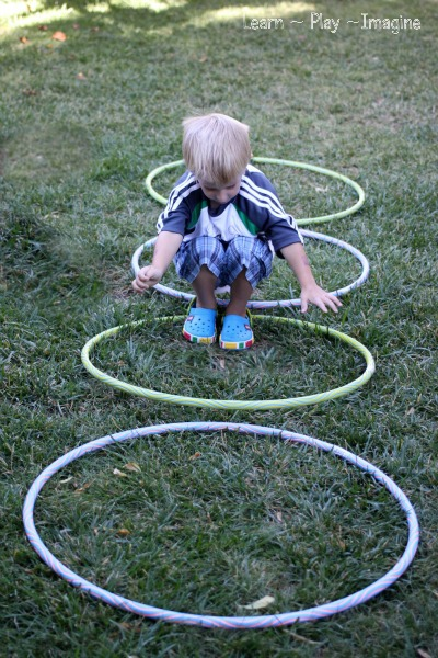 Gross Motor Activity Hula Hoop Games Learn Play Imagine