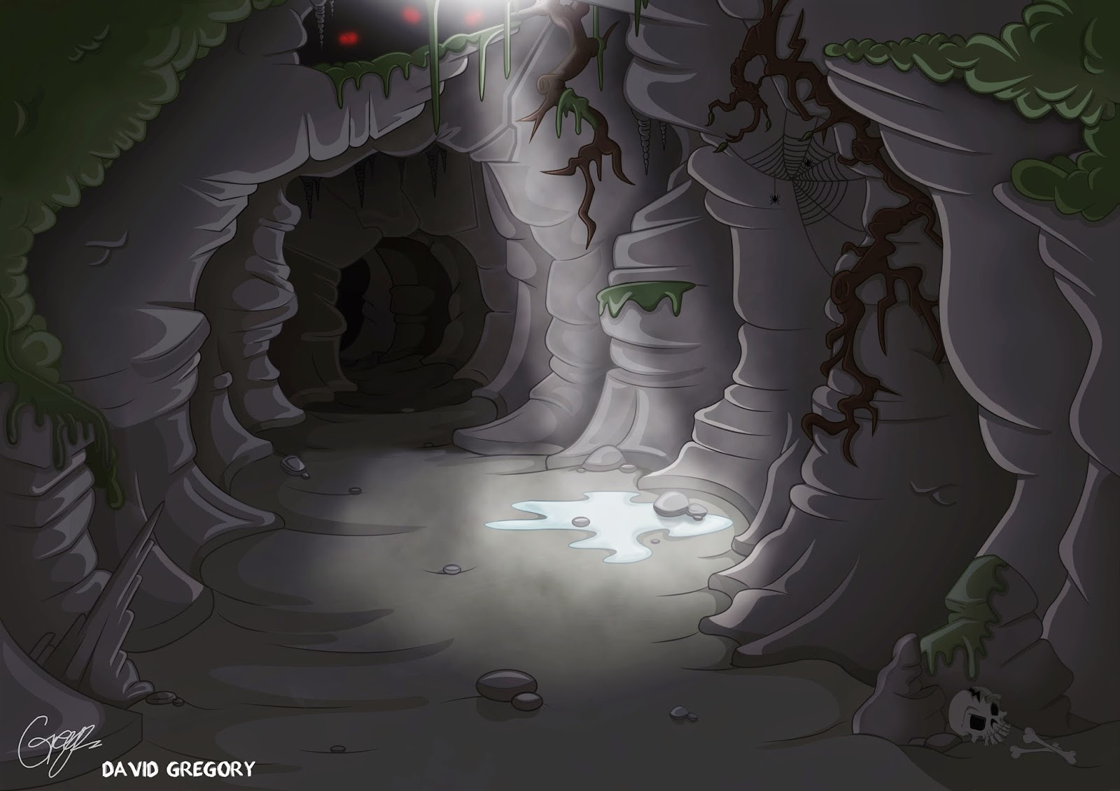 Similiar Cartoon Cave Background Keywords