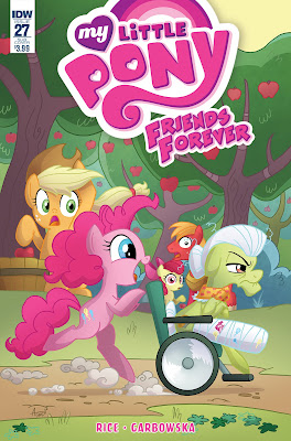 My Little Pony: Friends Forever #27—Synopsis, Artists, and Writer!