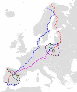 europa < 500 km