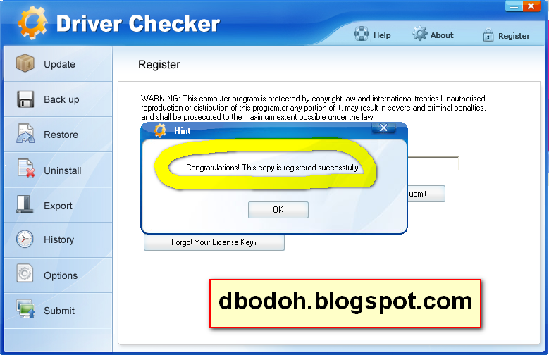 Free Download Driver Checker 2.7.5 Full Version + Serial Number