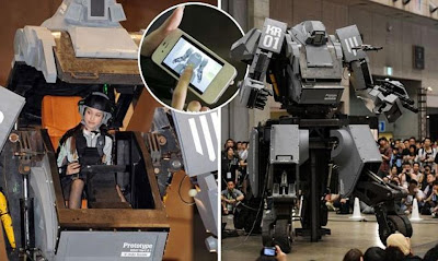 JAPAN BRINGS THE SENSATION OF PILOTING A 13-FOOT COMBAT ROBOT DOWN TO EARTH