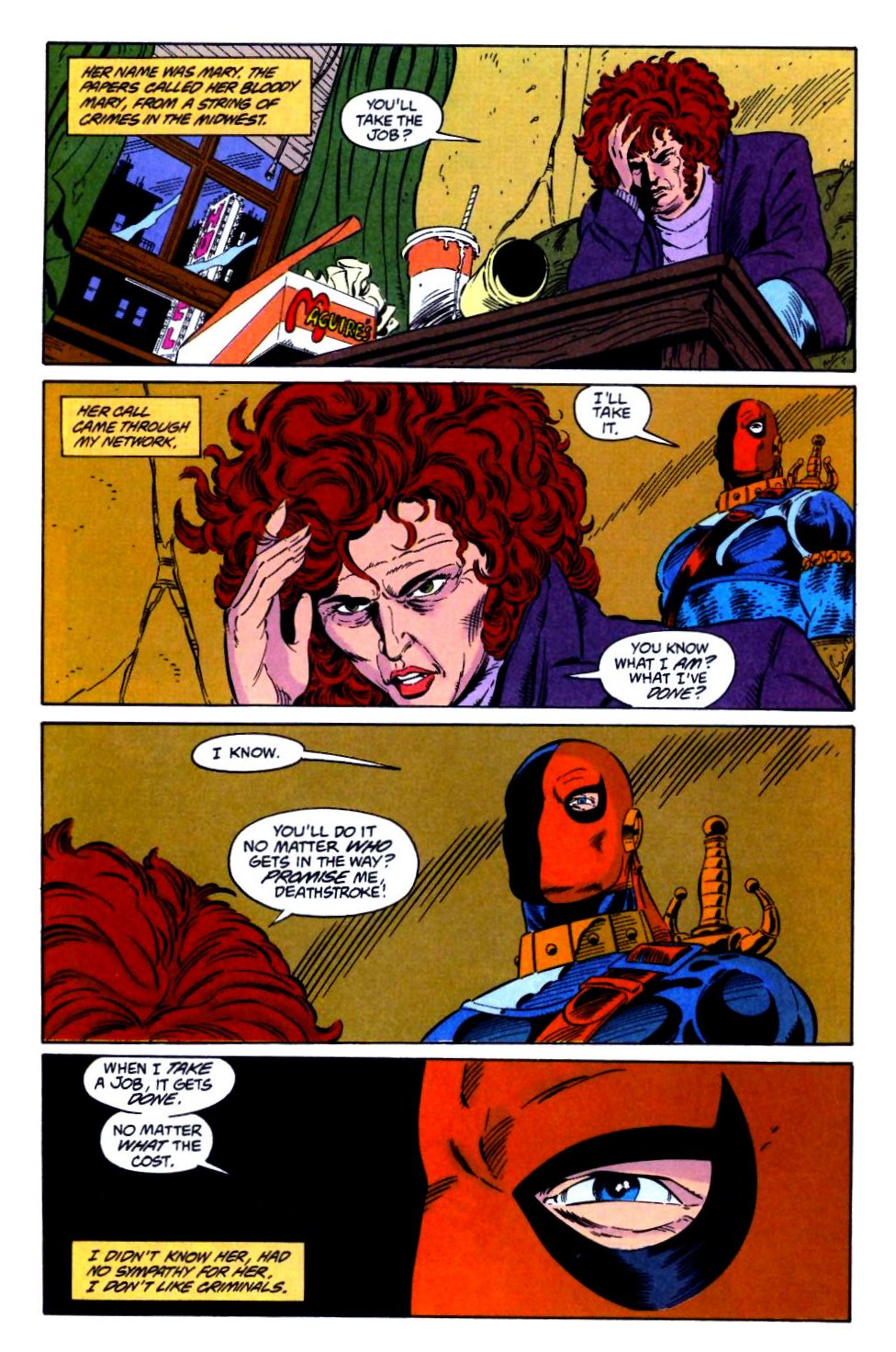 Deathstroke (1991) Issue #21 #26 - English 6