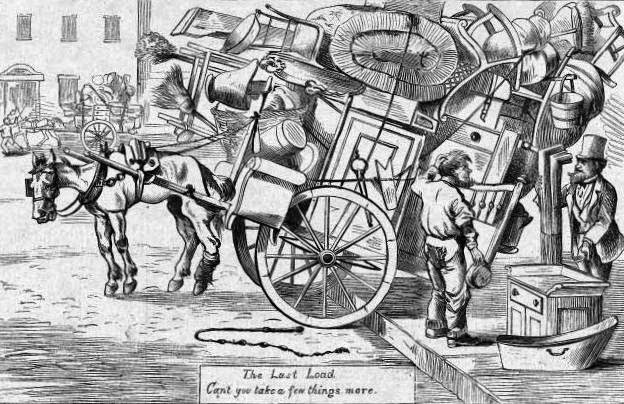 moving day 1800s