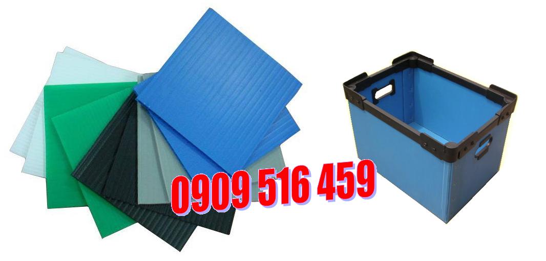Tấm nhựa pp danpla, tấm nhựa carton, thùng nhựa danpla, thùng nhựa carton- 0909 516 459