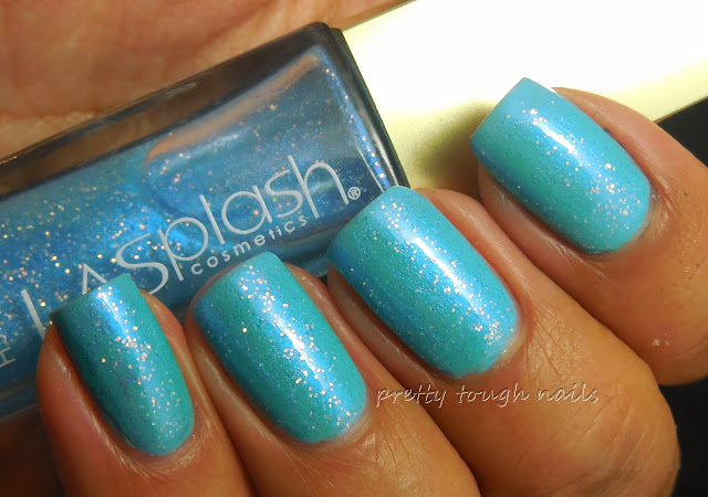 LA Splash Ocean Sprinkles Over Lancome Ultramarine Green