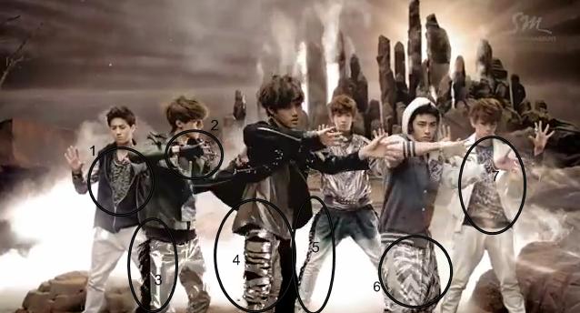 EXO History-scenes and ClothingExo Kai History