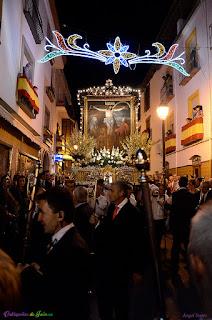 Durante la Procesión del Cristo de Chircales.