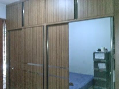 Lemari mbak yutta BSD kamar utama