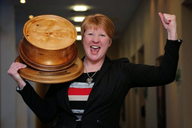Scotch Pie Winner Linda Hill of Murrays Bakery in Perth