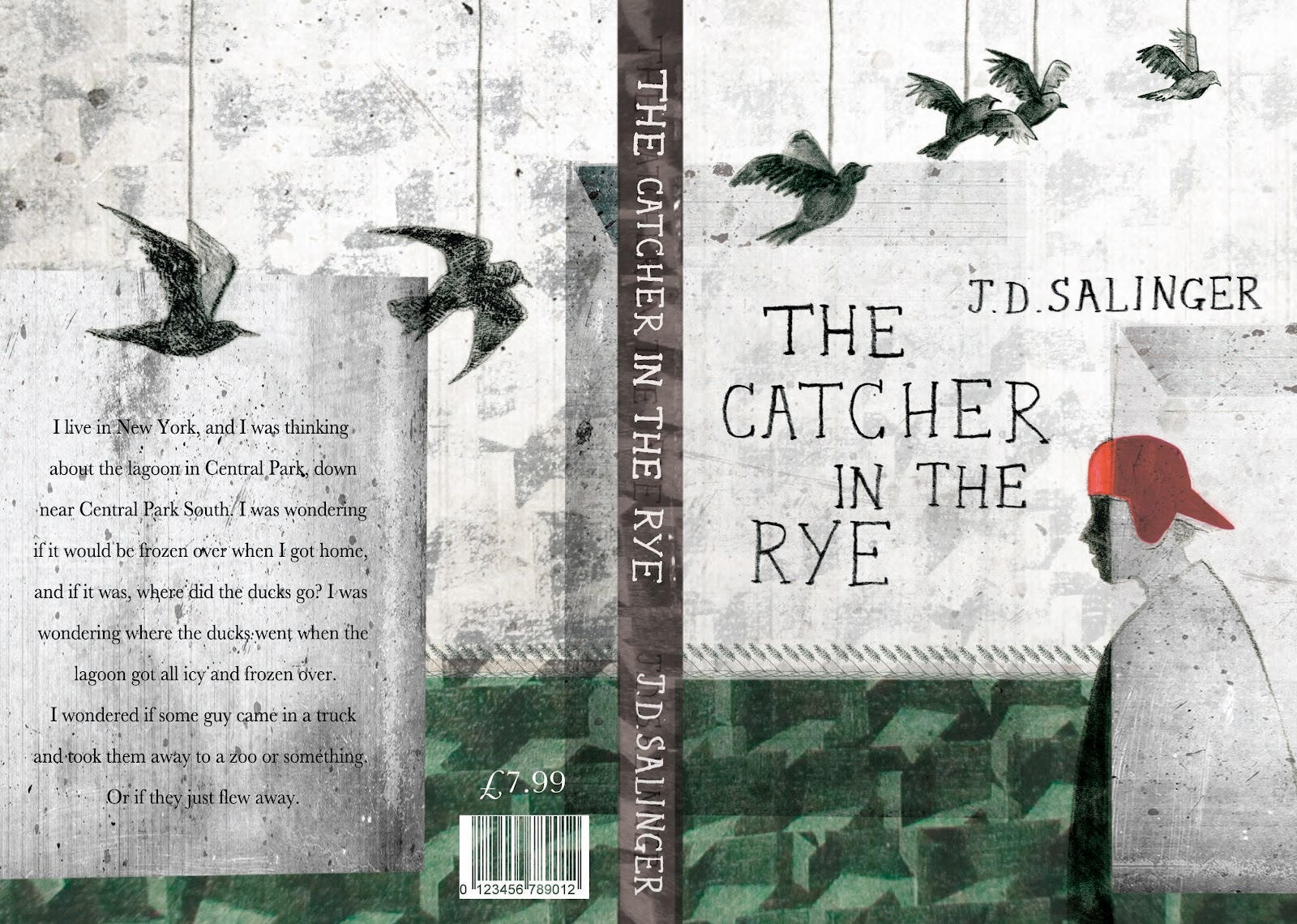 the catcher in the rye close Stories behind classic book covers (the catcher in the rye)  mitchell, whom  he lived very close to in connecticut in the early 1950's in one.