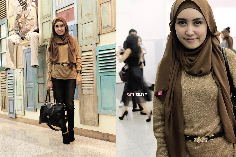 Baju Muslim Trendy Dengan Celana Tutorial Hijab