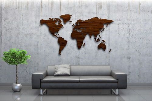 wonenonline mapawall presenteert unieke wanddecoratie van