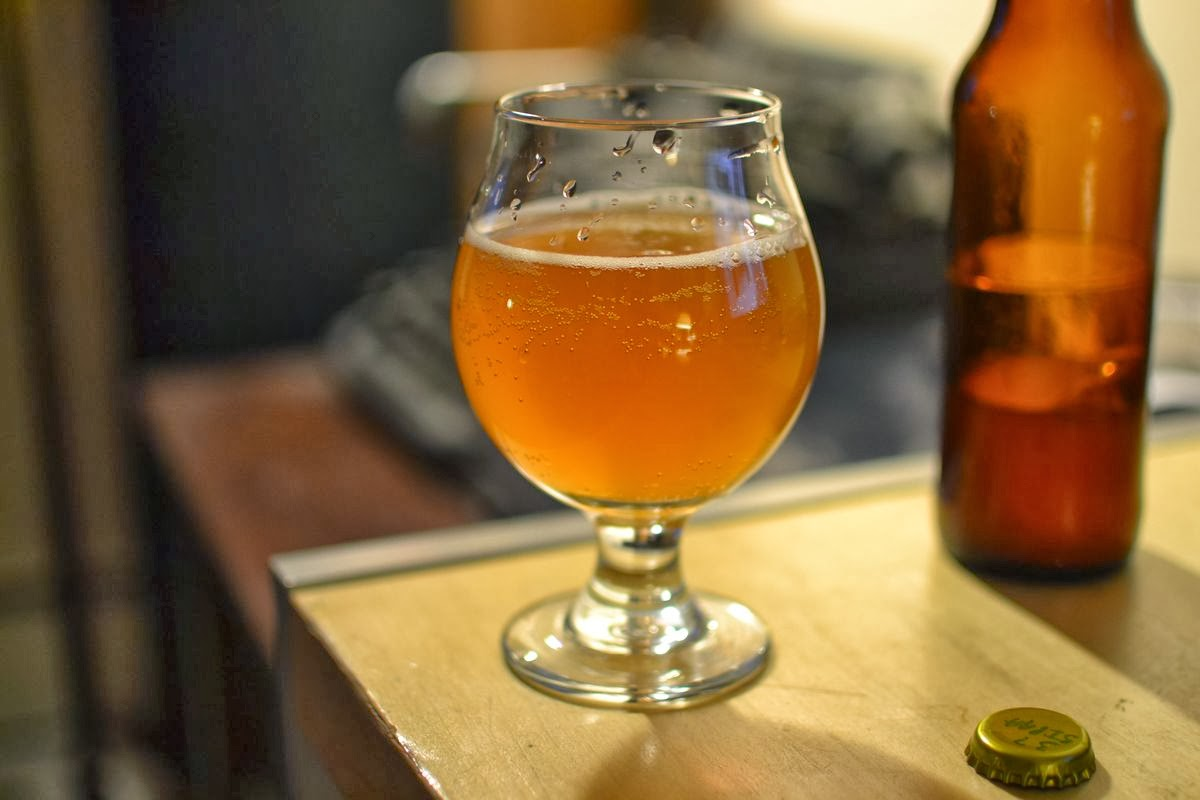 India Pale Aged Ale with Brett