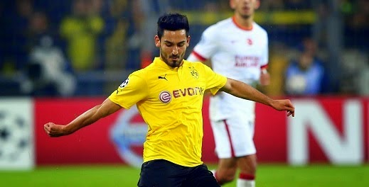 Manchester United keen on Ilkay Gundogan