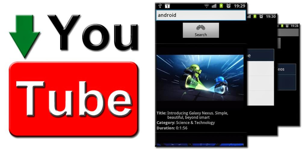 aplikasi untuk men video youtube