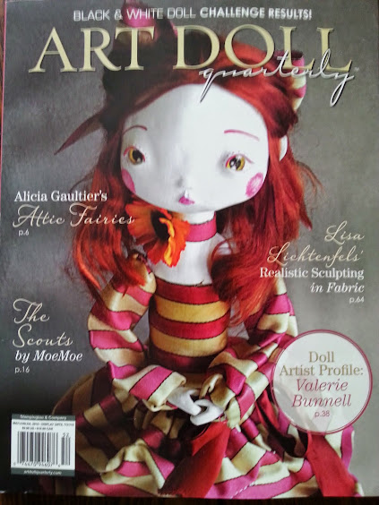 Featured in Art doll Quarterly