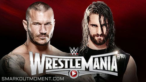 WWE WrestleMania 2015 PPV Orton vs Rollins results