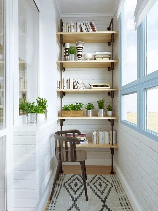 Um adorável apartamento de 45 m2