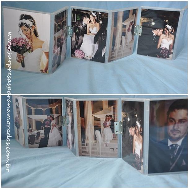 porta retrato capa dvd
