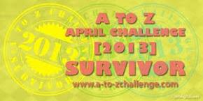 A to Z April Challenge Participant