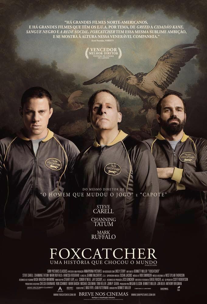 Pôster/capa/cartaz nacional de FOXCATCHER: UMA HISTÓRIA QUE CHOCOU O MUNDO (Foxcatcher)