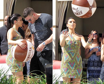 Kim Kardashian - Grand Opening of the Wet Republic-5