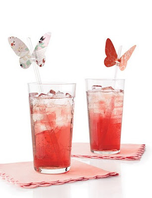 Butterfly Straw Holders