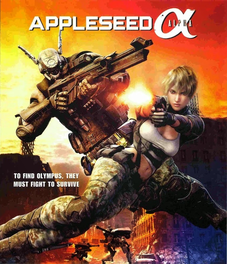 Appleseed Alpha – Legendado (2014)