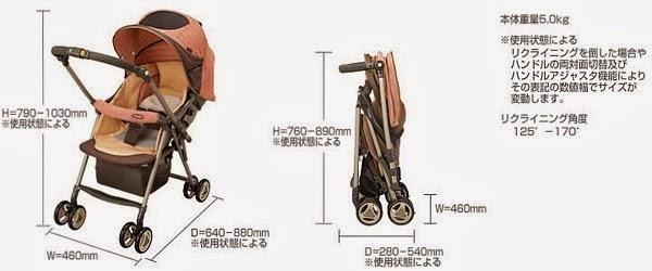 xe đẩy em bé Combi Typit - WTZ_2