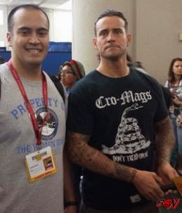 CM Punk Attends San Diego Comic Con.
