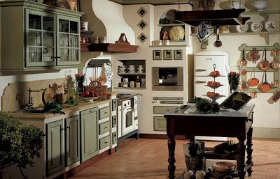 Ideas para pintar las paredes de una cocina country | Ideas para ...