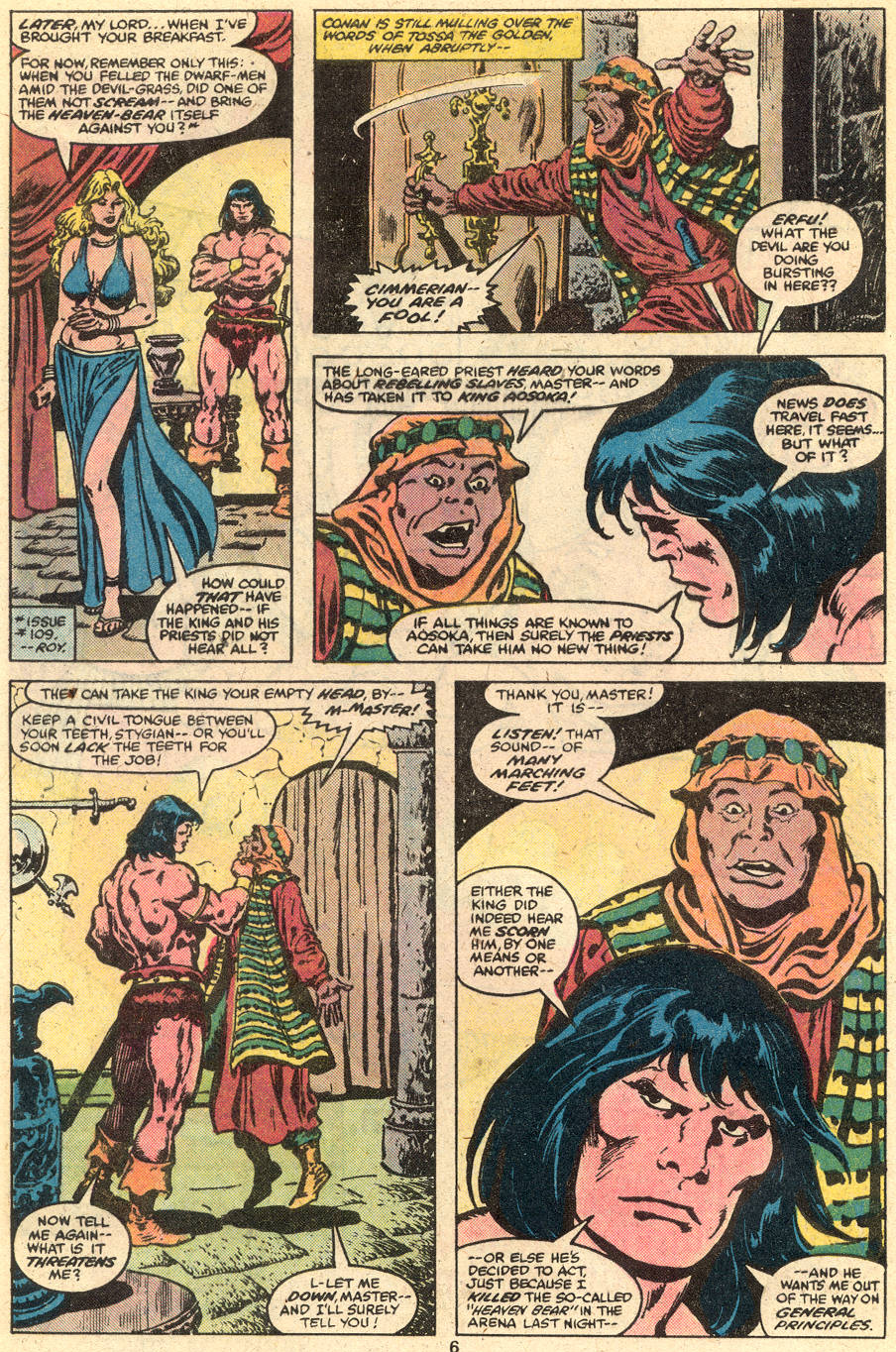 Conan the Barbarian (1970) Issue #111 #123 - English 5