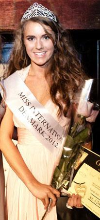 miss international denmark 2012 winner line knapp christiansen