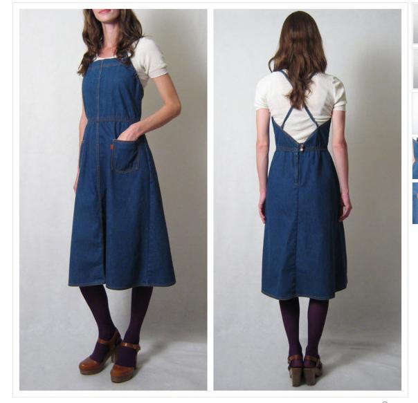 What is denim dress