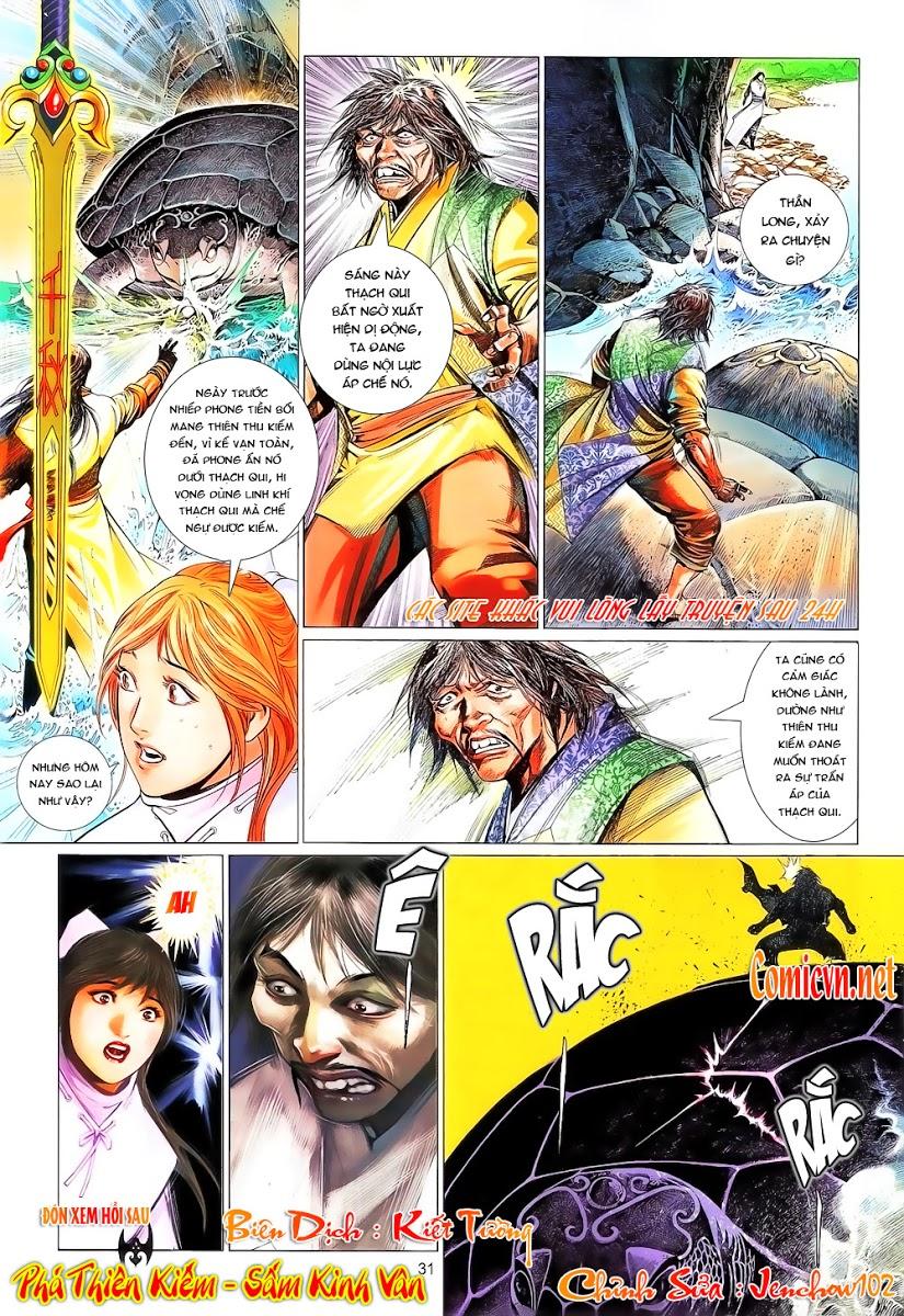 Phong Vân chap 644 Trang 31 - Mangak.info